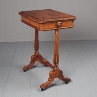 Antique Regency Mahogany Side Table (2 of 19)