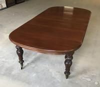 Early Victorian Mahogany Extending Dining Table (3 of 12)