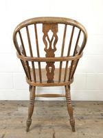 Antique Beech & Elm Windsor Armchair (7 of 7)