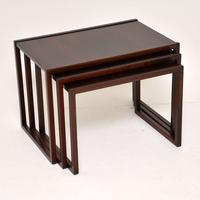 1960's Danish Rosewood Nest of Tables by Kai Kristiansen (6 of 11)