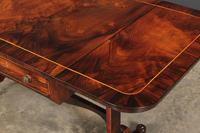 Magnificent Regency Rosewood Sofa Table (3 of 23)