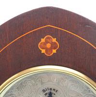 Antique German Quarter Chiming Mantel Clock (4 of 11)