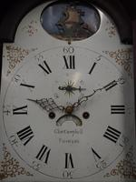 George III Inlaid Mahogany Longcase Clock by Charles Campbell, Boness (4 of 10)