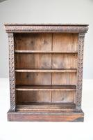 Victorian Carved Oak Bookcase (4 of 11)