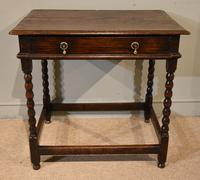 Chanrming 18th Century Oak Side Table (5 of 5)