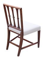 Set of 8 Georgian Mahogany Dining Chairs 19th Century C1820 (6 of 7)