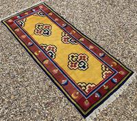 Antique Chinese Ningxia Rug (8 of 10)
