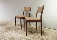 Set of 4 1960's mid century G Plan dining chairs (2 of 4)