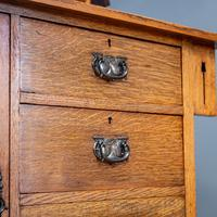 Arts & Crafts Mirror Backed Sideboard (6 of 14)