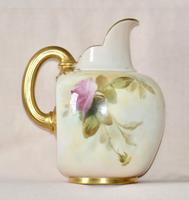 1887 Large Royal Worcester Porcelain Ewer (7 of 8)