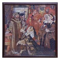 Fresco by Henry Albert Payne for the Palace of Westminster (9 of 10)