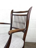 Antique 19th Century Spindle Back Chair (9 of 13)
