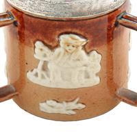 Doulton Lambeth Miniature Loving Cup (3 of 7)