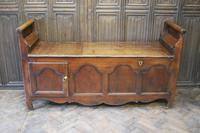 Antique French Coffer / Window Seat (5 of 7)