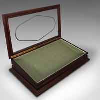 Antique Jeweller's Display Case, English, Mahogany, Shopfitting, Cabinet, 1910 (4 of 12)
