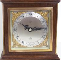 Perfect Vintage Mantel Clock Caddy Top Bracket Clock by Elliott of London Retailed by Malory of Bath (8 of 12)