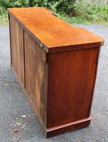 1900's Large Well Fitted Breakfront Mahogany 3 Door Sideboard + Key (5 of 5)