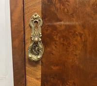 Pair of Burr Walnut Queen Anne Bedside Cupboards (10 of 15)