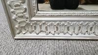 French Painted Silver Gilt Mirror (3 of 4)