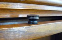Handsome 1930s Barrister Solicitors Oak Bookcase (6 of 13)