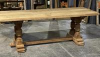 French Oak Refectory Farmhouse Dining Table (2 of 12)