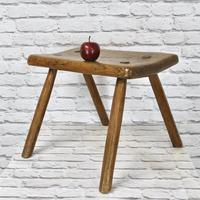 Elm-seated Country Stool (2 of 6)