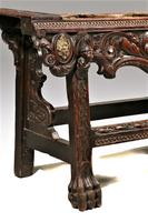 Late 19th Century European Carved Table (4 of 5)