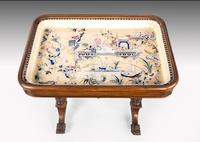 Hardwood Danish Basin Table from the Third Quarter of the 19th Century (4 of 7)