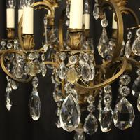 French Bronze 12 Light Antique Chandelier (5 of 10)