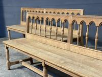 Pair of French 19th Century Dining Benches (12 of 15)