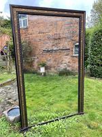 Very Large Ebonised & Gilt Mirror (7 of 7)