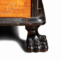 Anglo-Chinese Camphor & Ebony Campaign Secretaire Bookcase (3 of 15)