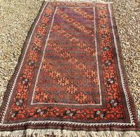 Good Antique Baluch Carpet (3 of 8)