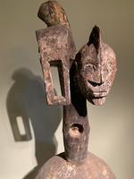 Rare & Old Two Faced Mumuye Sukuru Shoulder Mask (4 of 8)