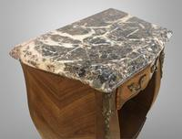French Marquetry Bedside Table Louis XVI Style (6 of 10)