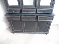 Reclaimed Pine Painted Black / White 6 Door 6 Drawer Kitchen Dresser / Bookcase (6 of 9)