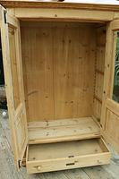 Fabulous Old Pine 'Knock Down' Glazed Display Cabinet (8 of 10)
