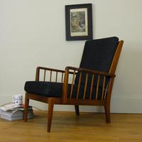 Mid Century Teak Armchair by George Stone High Wycombe (13 of 13)