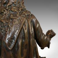 Antique Fontaine Figure, French, Bronze, Statue, after Ernest Rancoulet c.1920 (3 of 12)