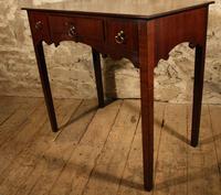 19th Century Mahogany Side Table (4 of 5)