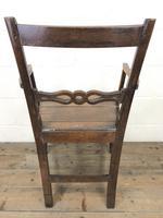 19th Century Welsh Oak Ball & Rail Back Chair (9 of 9)