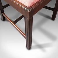 8 Antique Chippendale Revival Chairs, English, Mahogany, Dining Seat, Victorian (11 of 12)