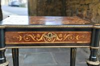 Superb French Inlaid Side Table/Work Table (5 of 18)