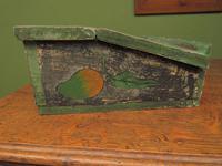 Shabby Chic Folk Art Painted Writing Slope Box with Fruit, Recipe Storage (10 of 14)