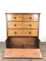 Antique Victorian Mahogany Chest of Drawers (6 of 10)