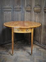 Small George III Sheraton Pembroke table