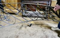 Unused Space Saver Iron Spiral Staircase with Hand Rails (3 of 12)