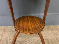 Edwardian Inlaid Satinwood Occasional Table c.1900 (3 of 10)
