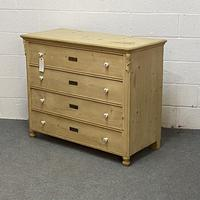 Old Czech Pine Chest of Drawers (2 of 4)