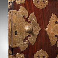 Antique Collector's Box, Chinese, Rosewood, Decorative Specimen Case c.1920 (10 of 12)